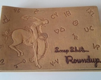 Western Cowboy Horse Scrapbook