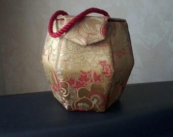 Asian Silk Box Purse