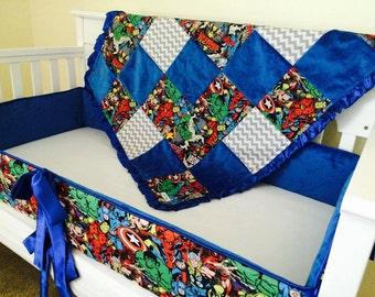 avengers bedding set   etsy