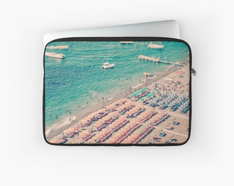 Beach Print Laptop Case - Beach Print Laptop Sleeve - Tablet case