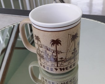 Vintage Retro Hollywood Mug - Probably 1970s or 1980s - Almost new condition