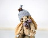 PDF teddy bear pattern - Artis Rabbit Roko 17cm handmade collectible Teddy Bear Bunny sewing pattern