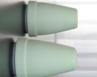 Modern vase, HTL 2060, porcelain vase, contemporary ceramics, minimal design, white ceramic vase, futuristic vase