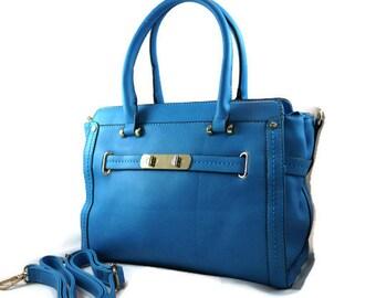 Ladies Camera Bag   Floral Padded Blue Camera Bag    Small Camera Bag