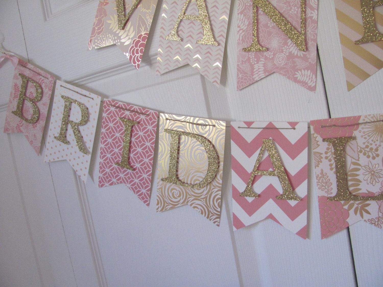 Bridal Banner Bridal Shower Banner. Wedding Shower Banner