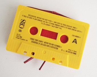 Zippered Cassette Tape Wallet - Terence Trent D'arby