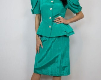 Power Puff Vintage Dress Suit