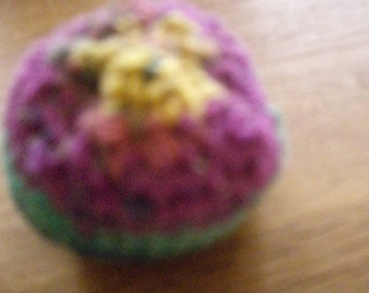 Lavender balls, crochet approx 15 cm, circumference, height 5 cm