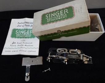 1940's Singer Buttonholer 121795