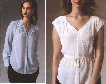 Vogue V1397 Rebecca Taylor Blouse Pattern Size A5 (6-8-10-12-14)