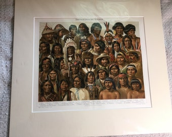 Native Americans Print