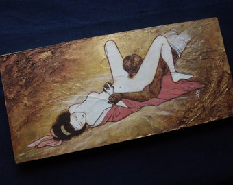 Arte desnudo erótico adolescentes