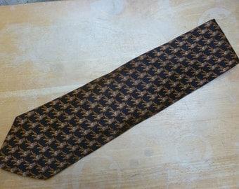Tiger silk necktie Museum Artifacts