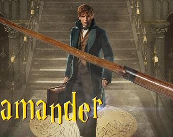 Newt Scamander magic Wand Fantastic Beasts