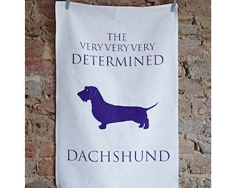 Dachshund Tea Towel - Dachshund Gifts - Wirehair Dachshund Gift - Sausage Dog - Wire Hair Dachshund - Doxie - Weiner Dog - Wiener Dog