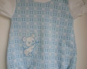 Vintage boys Healthtex one piece outfit,  size 9 months