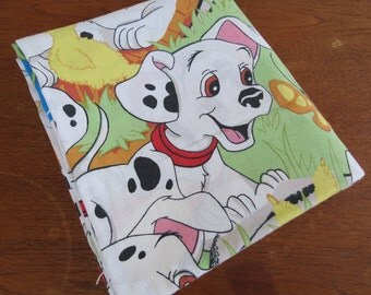 Childrens Vintage Sheet - Disney 101 Dalmatians - Full or Double Flat Sheet