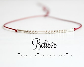 bracelet perle morse
