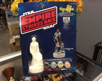 Star Wars Princess Leia Vinyl Figurine Paint Kit 1980