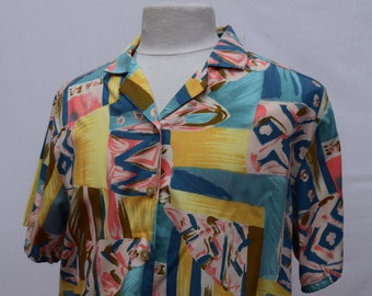 Abstract Summer BonWorth Shirt