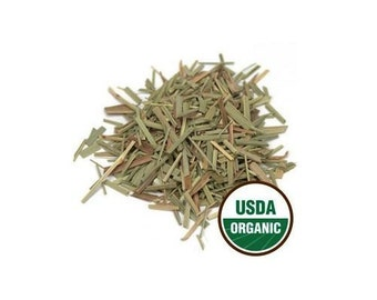 USDA Certified Organic Dried Lemongrass Cymbopogon Citratum c/s Tea 1-16oz