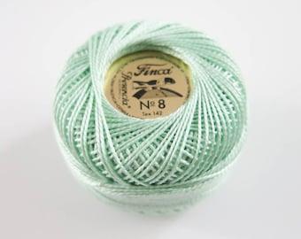Perle Cotton Thread   Finca Presencia Pearl Cotton, Embroidery Thread - Light Nile (4379)
