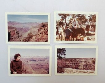 """1960s Grand Canyon/Indian Color Snapshots/Photos, Lot of 20, 3.5"""" by 2.5"""""""
