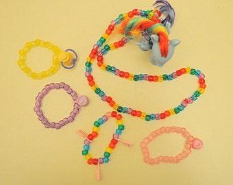 My Little Pony Kandi Collection Set (Rainbow Dash)