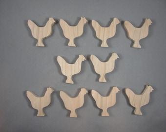 Chicken Cutouts (10)