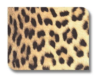 Leopard print paper napkin for decoupage, mixed media, collage, scrapbooking x 1. No. 1219 Into the Wild