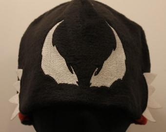 Venom Cosplay Fleece Hat