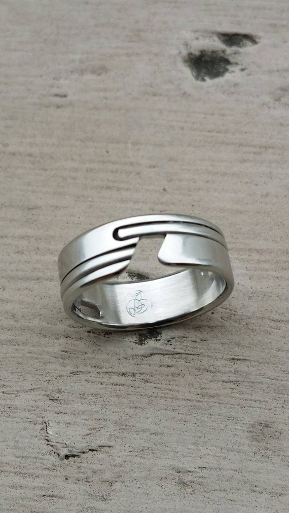"""05.5 """"APPROXI"""" women's handmade stainless steel ring (not casted)"""
