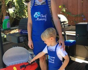 Future Chef Matching Aprons