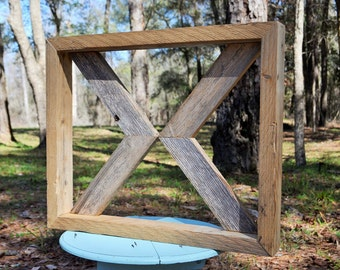 SALE!! One Reclaimed Framed Wood Arrow -Barn Wood Home Decor -Farmhouse Decor