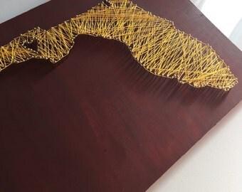 Florida (State) Nail & String Art