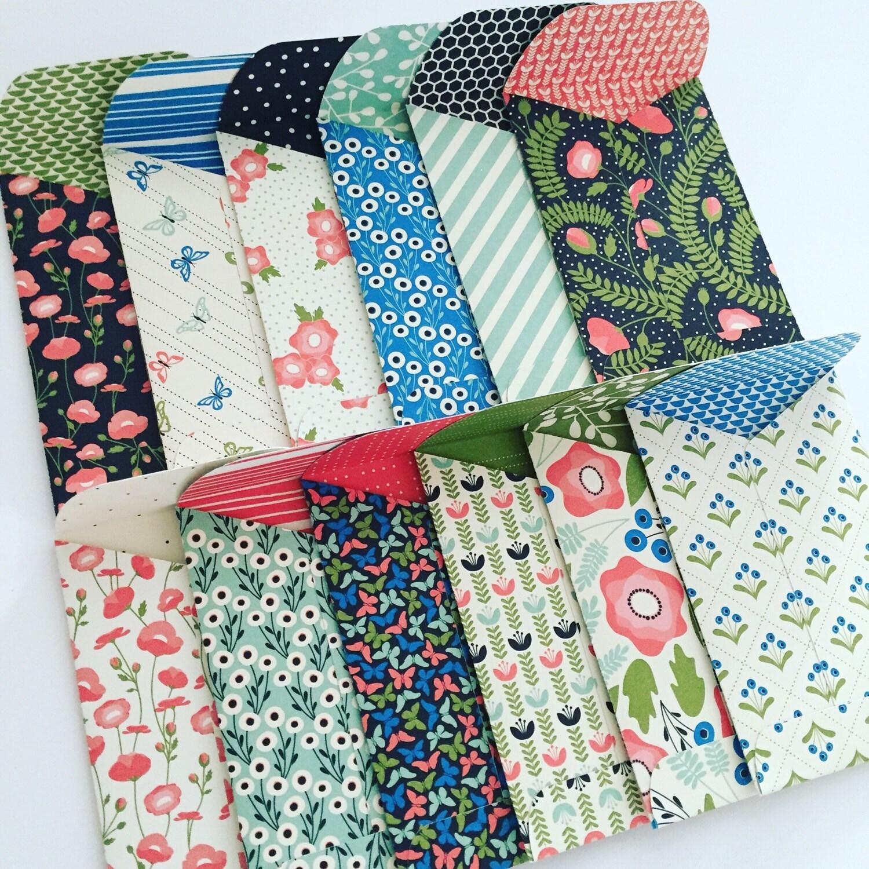 Gift Card Envelopes, Gift Card Holder, Mini Envelopes, Gift ...