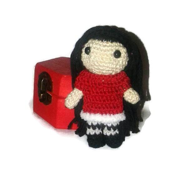 Amigurumi Mini Dolls : Items similar to Mini amigurumi doll - Fairy - Mini ...