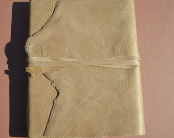 Custom Order Distressed Leather Journal Personal Lined Planner Diary (492)