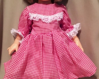 """Shirley Temple """"1972"""" Stamped Doll 16"""" Tall with Beautiful Brown Eyes and Blonde Curly Top Hair"""