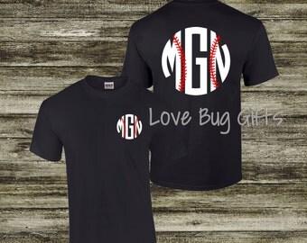 Baseball monogram shirt - Short Sleeve Shirt