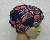 Chemo beanie, viscose jersey head wear, summer beanie, women's hat, chemo bonnet, chemo hat
