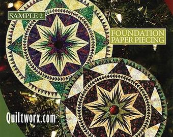 Christmas Celebration Paper Piecing Pattern