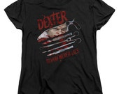 Dexter ladies horror fitted shirt size large