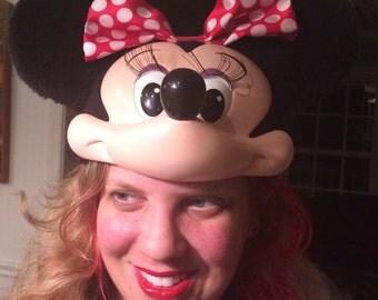 Vintage Minnie Mouse ears, Minnie Mouse costume