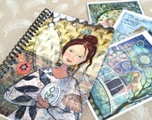 Angel Notebook pack including 3 soulful cards