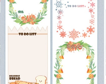 1 Roll of Limited Edition Washi Tape: To Do List
