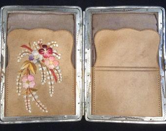 Edwardian Ladies Leather Card Case