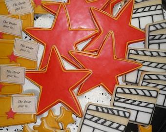Movie/Oscar Night Package Cookies - 1 Dozen