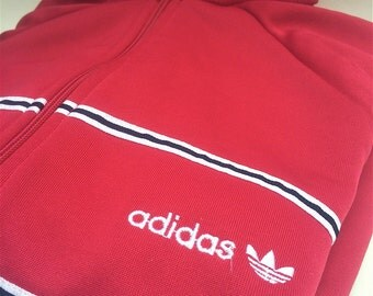 Hot pink women's Adidas track jacket, sweatshirt