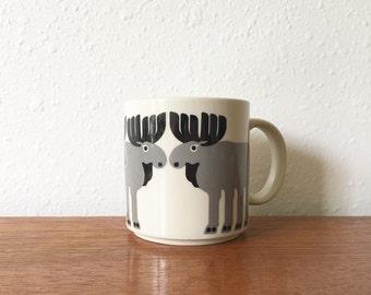 Vintage Taylor & Ng Moose Mug